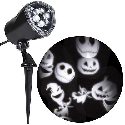 NIGHTMARE BEFORE CHRISTMAS LED PROJECTION LIGHT FLASHING STROBE WHIRL A MOTION