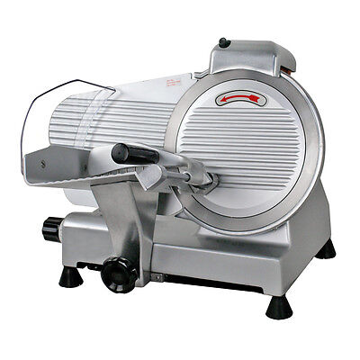 Electric Meat Slicer Stainless Steel 10'' Blade Bread Cutter Deli Food Machine 10 Meat Slicer