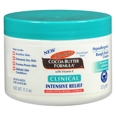 Dry Skin Relief Formula - Palmer's Cocoa Butter Formula Clinical Intensive Relief Rough Patch Cream 11.5oz