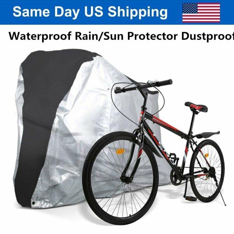 Large Waterproof Bicycle Cover Outdoor Rain/Sun Protector for Bikes Dustproof