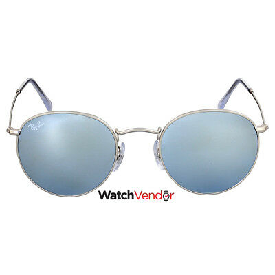 0149d7168ef44 Ray-Ban Round Silver Flash Sunglasses RB3447 019 30 50