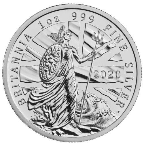2020 Britannia 1 oz Silver - Brilliant Uncirculated - Limited Edition of 3,000