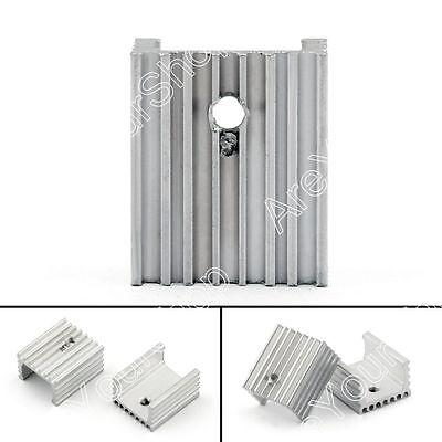 10pcs Heat Sink Cooler 15x10x18mm Radiator For Power Cpu Transistormosfetic Us