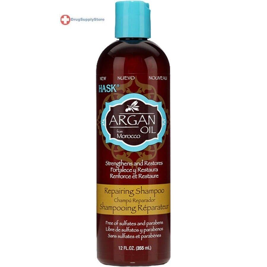 Hask Shampoo Argan Oil Repairing 12 Ounce