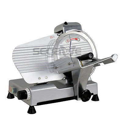 Premium 10 Blade Commercial Deli Meat Cheese Food Electric Slicer Chefs Choice