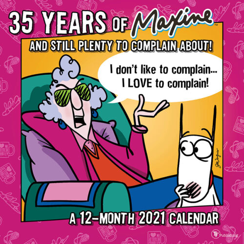 2021 Maxine Wall Calendar - 35th Anniversary Edition, Officially Licensed