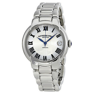 Raymond Weil Jasmine Automatic Silver Dial Stainless Steel Ladies Watch