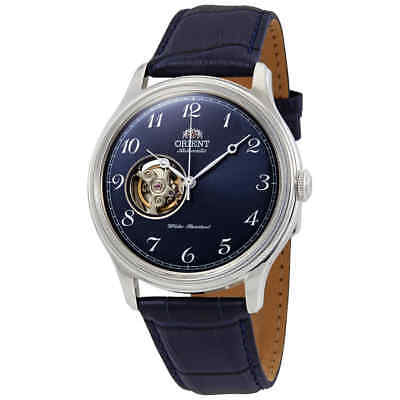 Orient Open Heart Automatic Blue Dial Men's Watch RA-AG0015L10B
