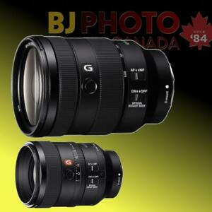 Brand New Sony E-Mount in stock || FE 24-105 f4 OIS || FE 100 f/2.8 STF GM OSS