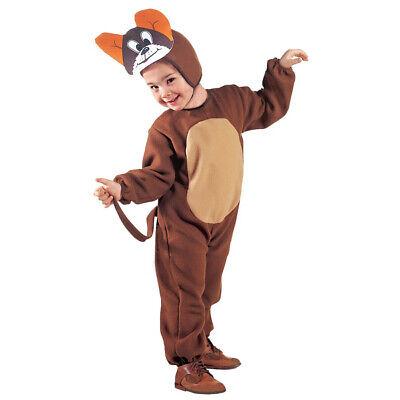 MAUS KOSTÜM & MASKE KINDER Karneval Fasching Tier Party Jungen Mädchen # 3603 (Braun Maus Kostüm Kostüm)