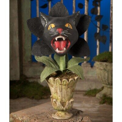 """NEW 2020 Bethany Lowe Designs Halloween """"Scaredy Cat Orchid"""" TD9064"""