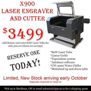 NEW - X900 Laser Engraver and cutter
