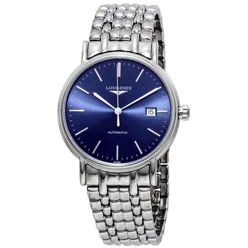 Longines Presence Automatic Blue Dial Men Watch L4.921.4.92.6