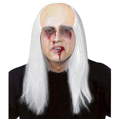 E Halloween Zombie Glatze Perücke Bestatter Kostüm Party 8392 (Glatze Perücke)