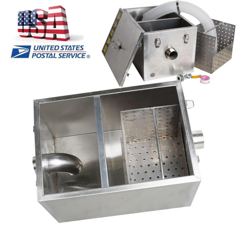 Grease Trap Interceptor for Restaurant Kitchen Wastewater oil-water separator US