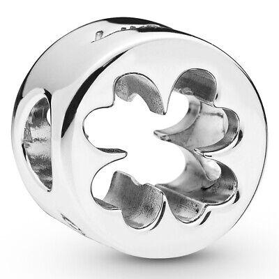 PANDORA Charm Element 797868 Clover Kleeblatt Glück Silber Bead (Pandora Glück)