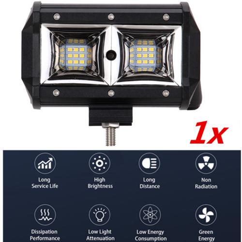 5inch ATV LED Driving Fog Light 54W Offroad Work Lighting Accessories Universal