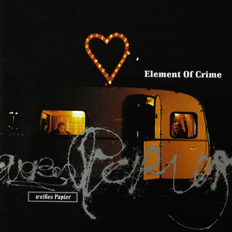 Element Of Crime – Weißes Papier ! CD Album ! Germany 1993 ! Deutsch-Rock