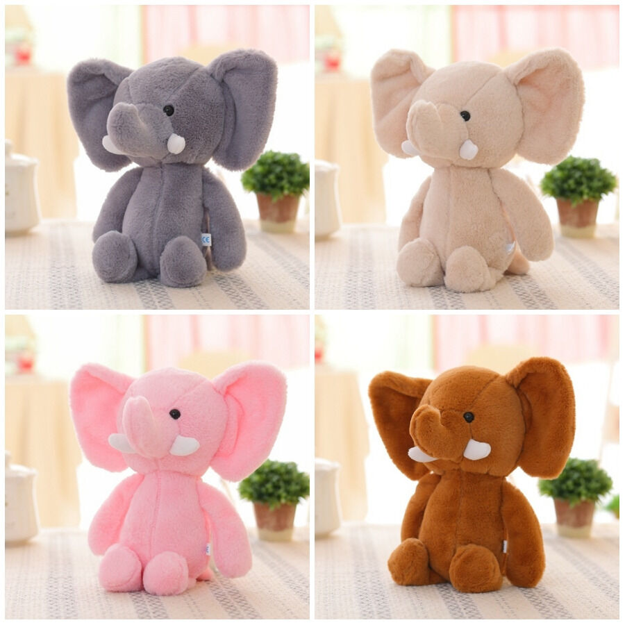 Plush Elephant Baby Kid/'s Cute Animal Soft Toy Mini Stuffed Animals Doll Gift US