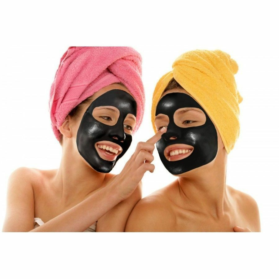 Purifying Black Peel-off Mask Facial Cleansing Blackhead Remover Charcoal Mask Health & Beauty