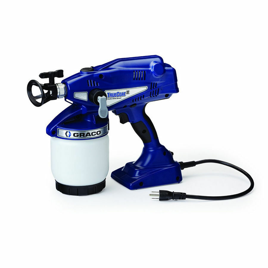 graco 16n658 truecoat ii handheld airless paint sprayer. Black Bedroom Furniture Sets. Home Design Ideas
