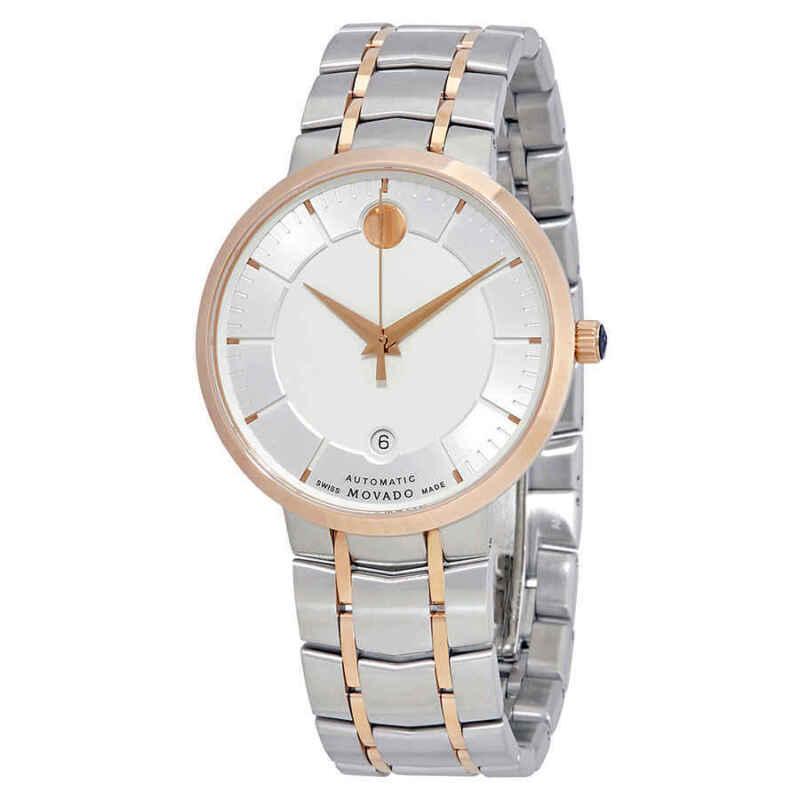 Movado-1881-Automatic-Silver-Dial-Two-tone-Men-Watch-0607063