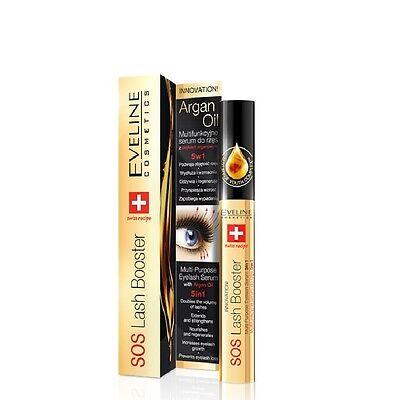 Eveline Lash Therapy Total 5in1 Argan Oil Eyelash Serum Professional Conditioner
