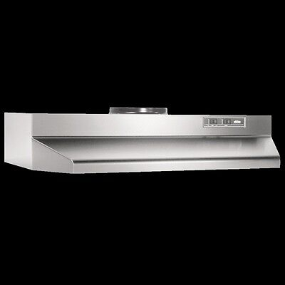 """STAINLESS OVER THE STOVE RANGE HOOD Ducted 36"""" Exhaust Fan Under Kitchen Cabinet"""