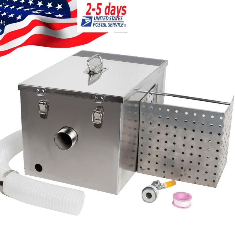 US Steel Oil-water Separator Grease Trap Interceptor for Restaurant Wastewater