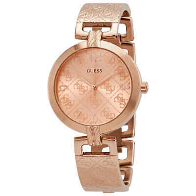 Guess G Luxe Quartz Rose Dial Ladies Watch W1228L3