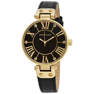 Anne Klein Black Dial Ladies Watch 1396BMBK