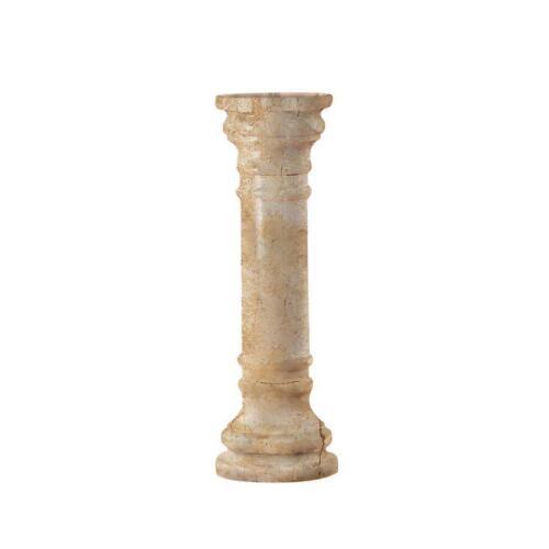 """PO8031V - Solid Marble Columns: Verona - Medium 31"""" Tall"""