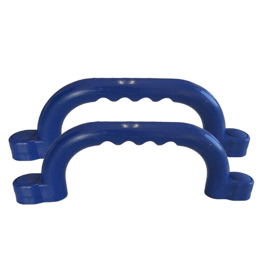2x Handgriffe blau Haltegriffe für Spielturm Spielhaus von Gartenpirat GP1878