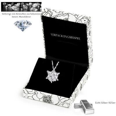 925er Echt Silber Eiskristall Frozen Elsa Halskette mit Swarovski-Element ()