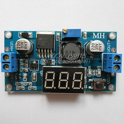Lm2596 Buck Step-down Power Converter Module Dc 4.040 To 1.3-37v Led Volt N36