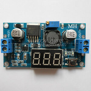 LM2596 Buck Step-down Power Converter Module DC 4.0~40 to 1.3-37V LED Volt N36