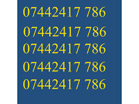GOLD VIP BUSINESS EASY GOOD MOBILE PHONE NUMBER 786 DIAMOND PLATINUM SIM CARD