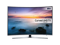 55in Samsung **CURVED** 4k LED Smart HDR TV voice ctrl -wifi- 1500hz - Freeview & Freesat HD