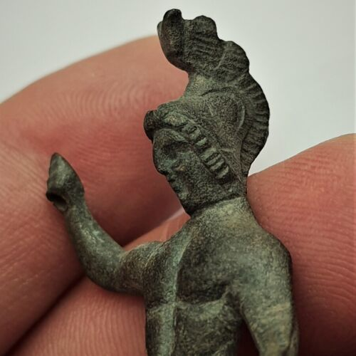 Ancient Greek bronze figure of Ares, Rare.