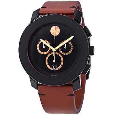 Movado Bold Chronograph Black Dial Men's Watch 3600540