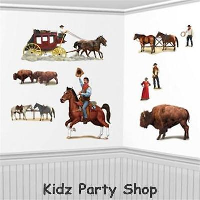 Wild West Party - 9 Insta Theme Scene Setter Decoration Add-ons - Free Post UK](Wild West Scene Setters)