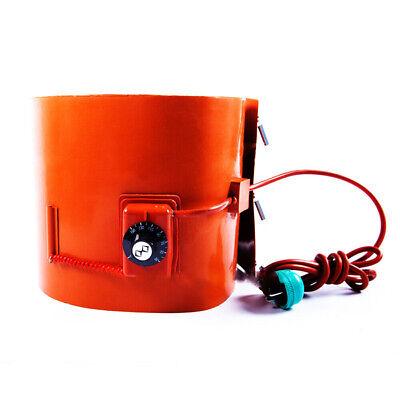 1x 200l 1740250mm Insulated Silicon Drum Heater Wvo Oil Biodiesel Plastic 2000w
