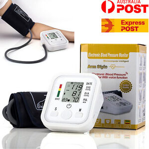 Digital Blood Pressure Monitor Automatic Upper Arm Sphygmomanometer Cuff Set