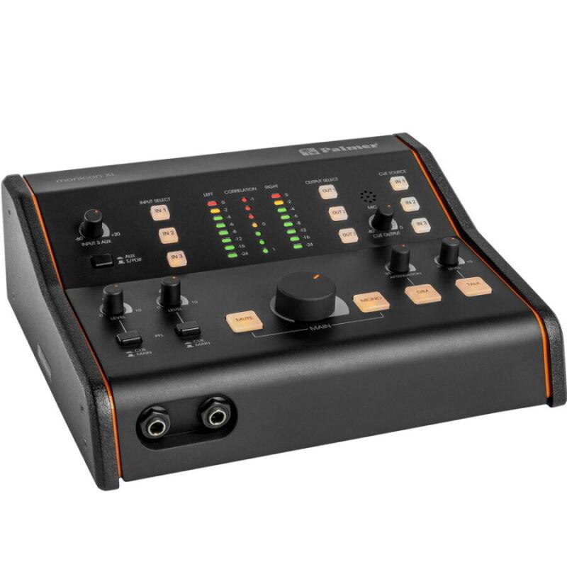 Palmer Monicon XL Active Studio Monitor Controller, New!