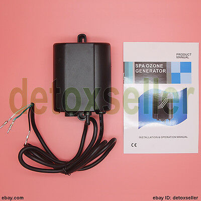 Latest 300 mg/h Aquatic 2 Spa & Hot Tube ozone generator pool ozonator AMP Plug