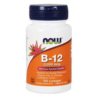 NOW FOODS Vitamin B-12 2000mcg 100 compresse - VITAMINE