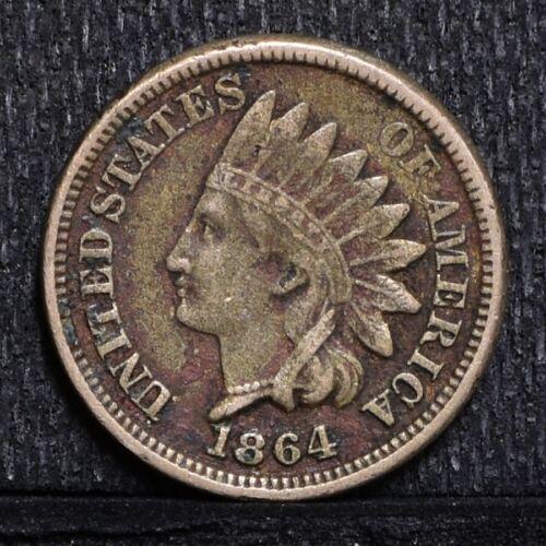 1864 Indian Cent - C/N - VF Details (#30091)