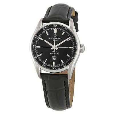 Certina DS 1 Lady Automatic Black Dial Ladies Watch C006.207.16.051.00