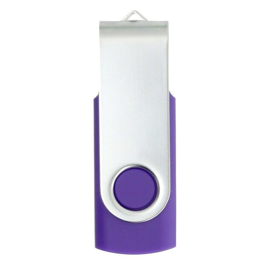 Enfain Generic Swivel USB 2.0 Flash Memory Stick Drive