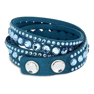 AUTH Swarovski Slake Aqua Dot Bracelet 5201117